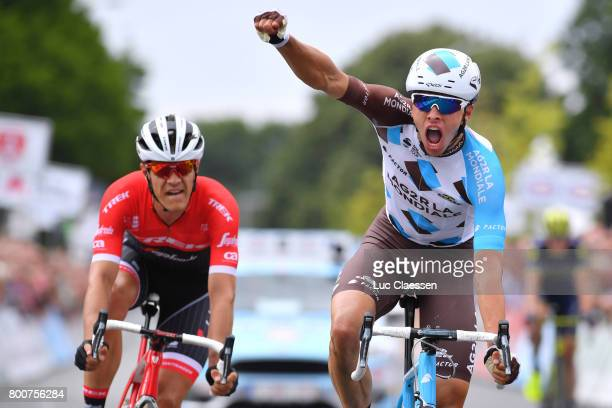 118th Belgian Road Championship 2017 / Elite Men Arrival / Oliver NAESEN Celebration / Jasper STUYVEN / Antwerp Antwerp / BRC/