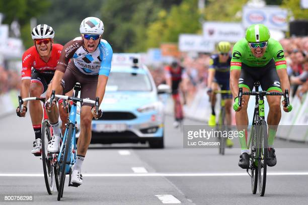 118th Belgian Road Championship 2017 / Elite Men Arrival / Oliver NAESEN Celebration / Jasper STUYVEN / Sep VANMARCKE / Antwerp Antwerp / BRC/