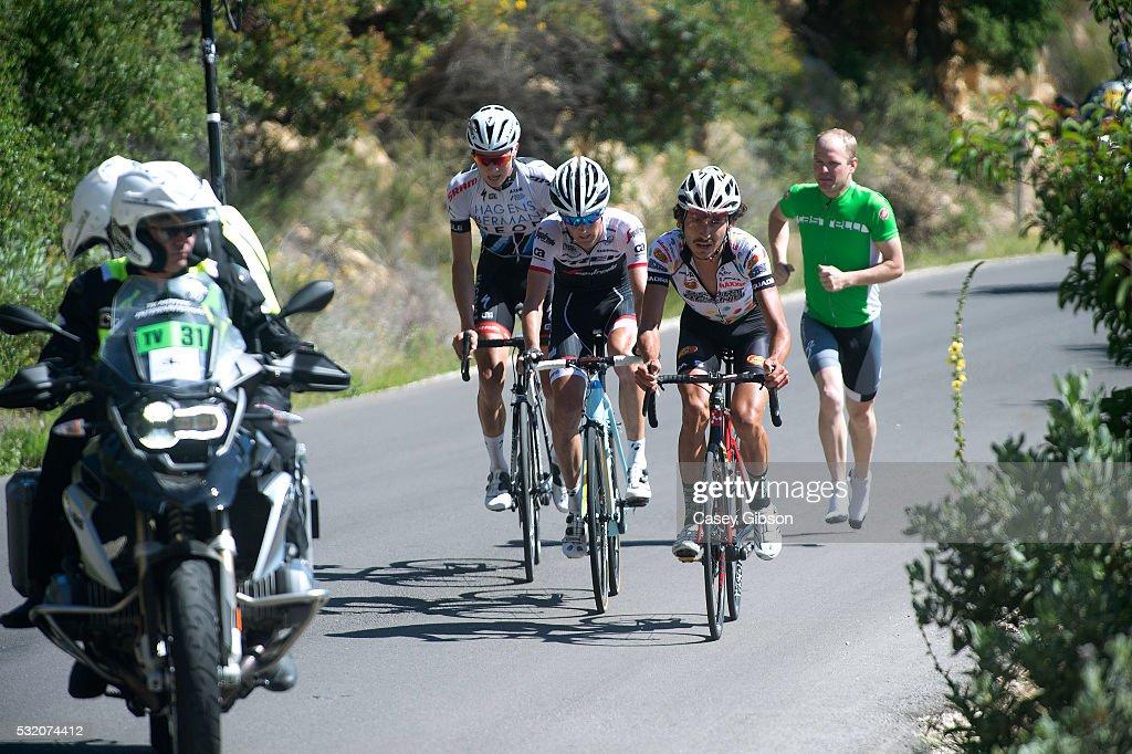 11th Amgen Tour of California 2016 / Stage 3 Angus MORTON (AUS)/ Peter STETINA (USA)/ Neilson POWLESS (USA)/ Thousand Oaks-Santa Barbara Gibraltar 1.059m / Amgen Tour of California / Amgen/ ATOC /