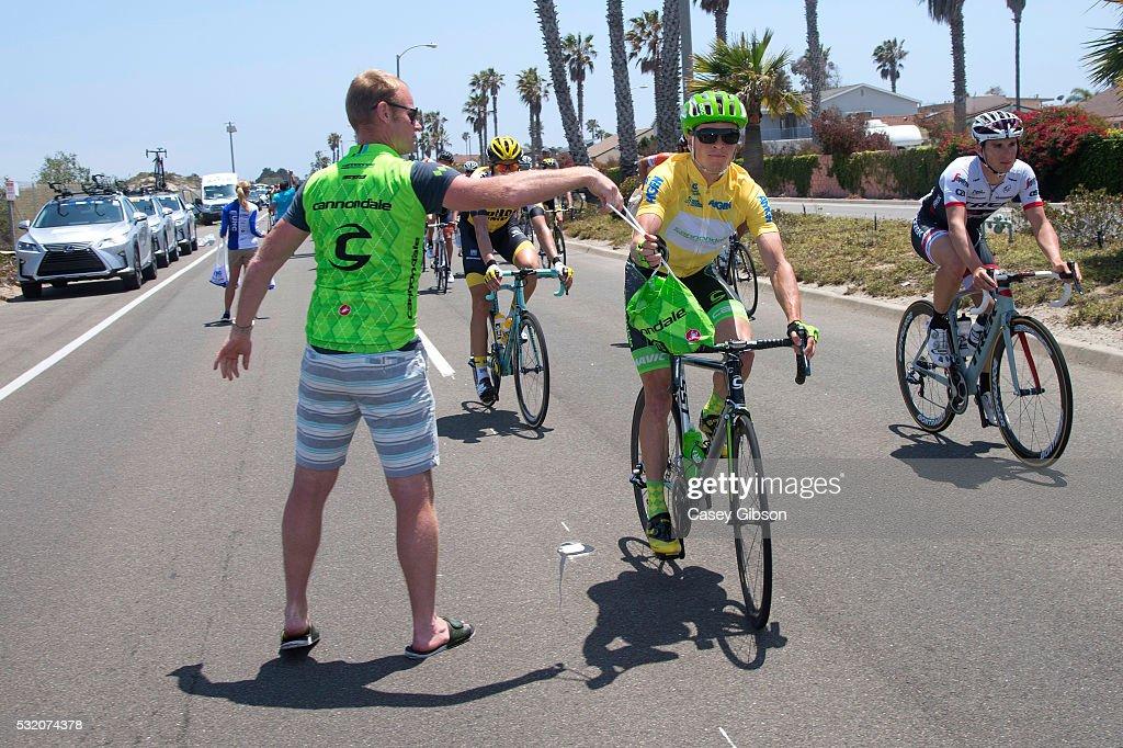 11th Amgen Tour of California 2016 / Stage 3 Benjamin KING (USA) Yellow Leader Jersey/ Feed Zone / Thousand Oaks-Santa Barbara Gibraltar 1.059m / Amgen Tour of California / Amgen/ ATOC /