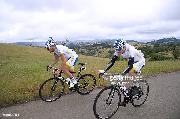 11th Amgen Tour of California 2016 / Stage 7 Andrea PERON / Charles PLANET / Santa Rosa Santa Rosa / Amgen Tour of California / Amgen/ ATOC /