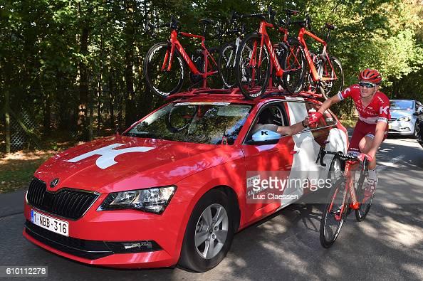 12nd Eneco Tour 2016 / Stage 6 Jurgen VAN DEN BROECK / Car / Sportsdirector / Bottle / Team KATUSHA / Riemst Lanaken / / Tim De WaeleLC/Tim De...