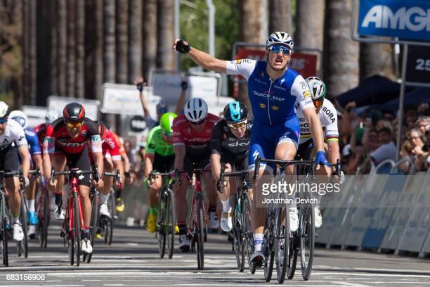 12th Amgen Tour of California Men 2017 / Stage 1 Arrival / Marcel KITTEL Celebration / Peter SAGAN / Elia VIVIANI / Sacramento Sacramento / ATOC /...