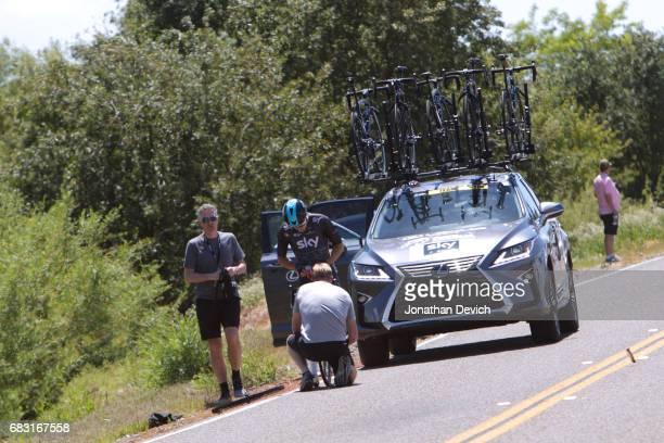 12th Amgen Tour of California Men 2017 / Stage 1 Elia VIVIANI / Mechanical Problem / Team SKY / Sacramento Sacramento / ATOC / Amgen /