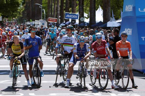 12th Amgen Tour of California Men 2017 / Stage 1 Start / Robert GESINK /Gregory HENDERSON / Peter SAGAN / Marcel KITTEL / Rick ZABEL / Rob BRITTON...