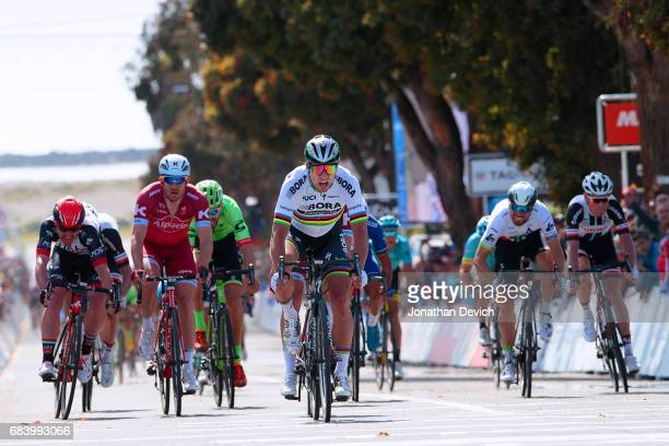 12th Amgen Tour of California Men 2017 / Stage 3 Arrival / Rick ZABEL / Peter SAGAN / Sprint / Pismo Beach Morro Bay / ATOC / Amgen /