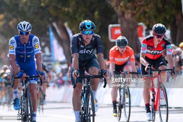 12th Amgen Tour of California Men 2017 / Stage 3 Zdenek STYBAR / Elia VIVIANI / Floris GERTS Pismo Beach Morro Bay / ATOC / Amgen /
