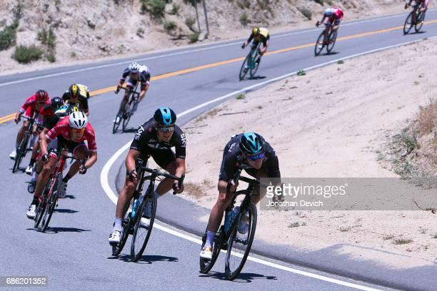 12th Amgen Tour of California Men 2017 / Stage 7 Elia VIVIANI / Jonathan DIBBEN / Mountain High Pasadena / ATOC / Amgen /