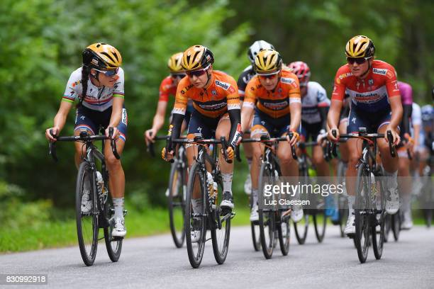 12th Open de Suede Vargarda 2017 / Women RR Lizzie Elizabeth ARMITSTEADDEIGNAN / Megan GUARNIER / Christine MAJERUS / Team Boels Dolmans Cycling Team...