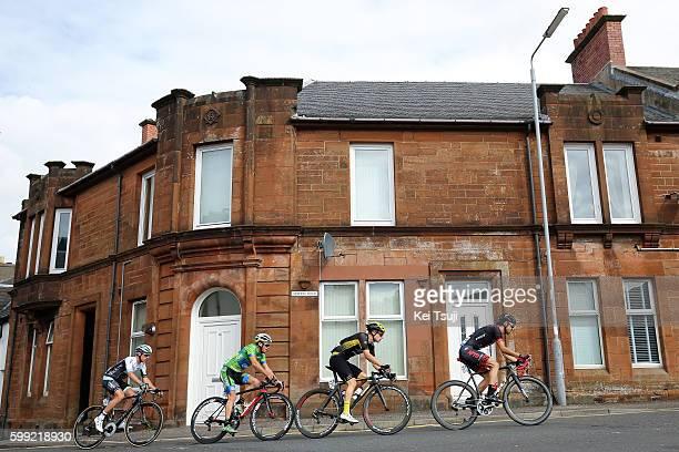 13rd Tour of Britain 2016 / Stage 1 Peter WILLIAMS / Emiel WASTYN / Jonathan MCEVOY / Thomas MOSES / Glasgow Castle Douglas / Tour of Britain /Tim De...