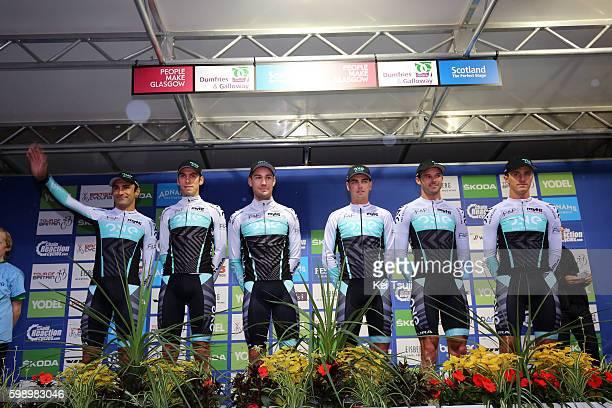 13rd Tour of Britain 2016 / Team Presentation Team One Pro Cycling / Hayden MCCORMICK / Dion SMITH / Karol DOMAGALSKI / Kristian HOUSE / Steele VON...