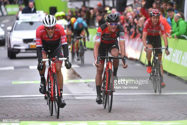 13th BinckBank Tour 2017 / Stage 6 Arrival / Jasper STUYVEN / Greg VAN AVERMAET / Tiesj BENOOT / Riemst Houffalize / BBT /