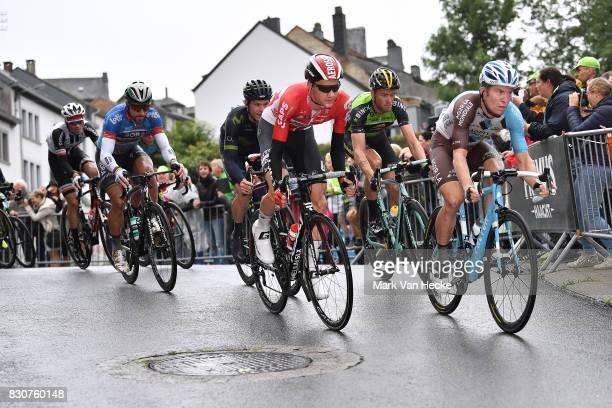 13th BinckBank Tour 2017 / Stage 6 Tim WELLENS Celebration / Tom DUMOULIN / Jan BAKELANTS / Peter SAGAN Blue Sprint Jersey / Riemst Houffalize / BBT /