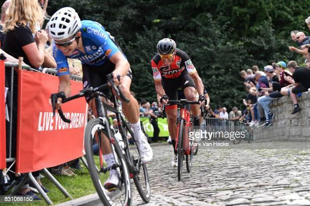 13th BinckBank Tour 2017 / Stage 7 Greg VAN AVERMAET / Cobbles / Fans / Public / Essen Geraardsbergen 55m / BBT /