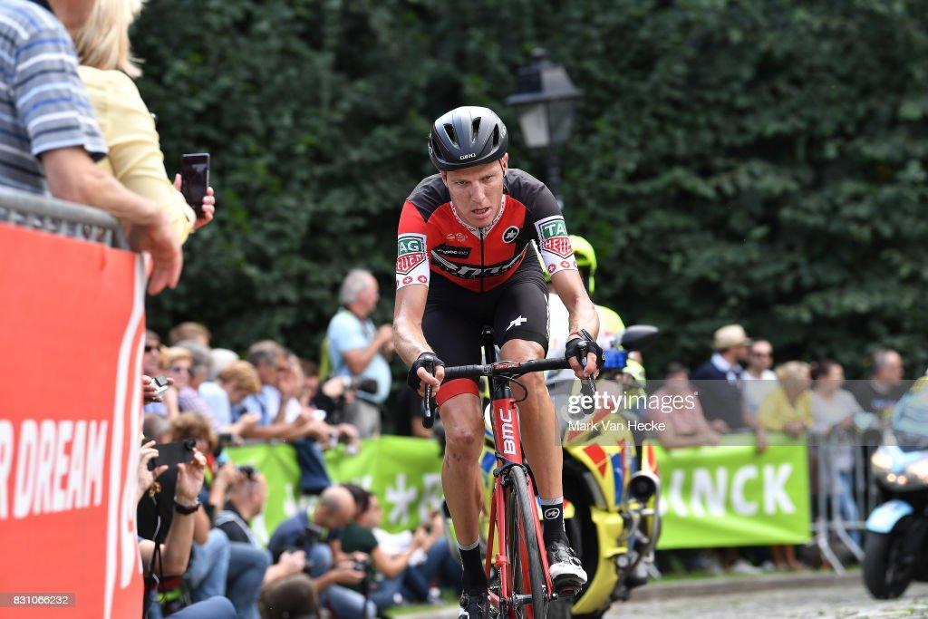 13th BinckBank Tour 2017 / Stage 7 Michael SCHAR (SUI)/ Cobbles / Fans / Public / Essen - Geraardsbergen 55m (191,3km)/ BBT /