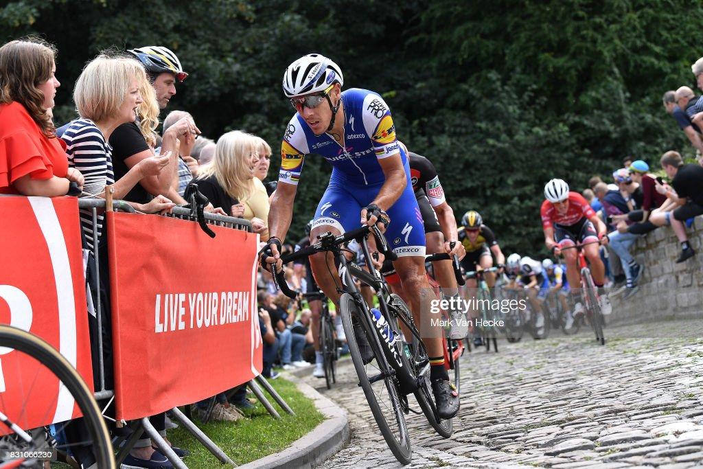 13th BinckBank Tour 2017 / Stage 7 Philippe GILBERT (BEL)/ Cobbles / Fans / Public / Essen - Geraardsbergen 55m (191,3km)/ BBT /