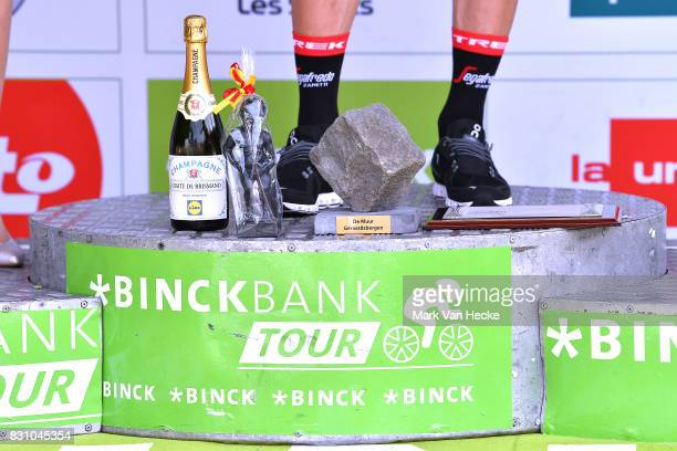 13th BinckBank Tour 2017 / Stage 7 Podium / Jasper STUYVEN / Celebration / Trophy / Champagne / Essen Geraardsbergen 55m / BBT /