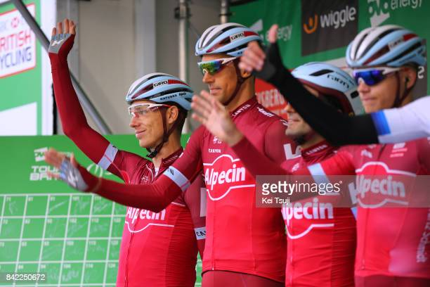 14th Tour of Britain 2017 / Stage 1 Start / Tony MARTIN / Nils POLITT / Edinburgh Kelso / OVO Energie / TOB /