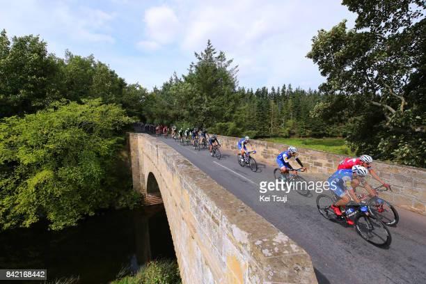 14th Tour of Britain 2017 / Stage 1 Zdenek STYBAR / Fernando GAVIRIA / Nils POLITT /Landscape / Peloton / Edinburgh Kelso / OVO Energie / TOB /