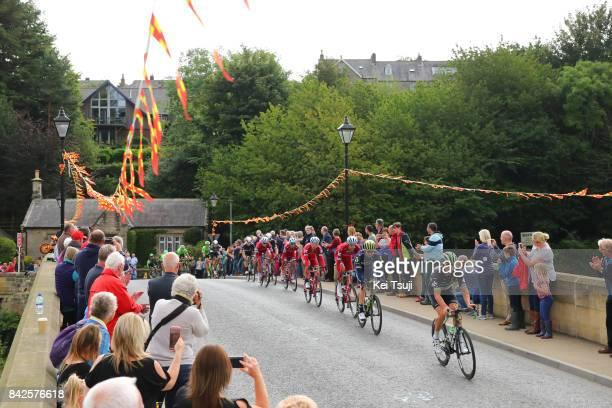 14th Tour of Britain 2017 / Stage 2 Jay Robert THOMSON / Nils POLITT / Tony MARTIN / Luke DURBRIDGE / Peloton / Landscape / Kielder Water Forest Park...
