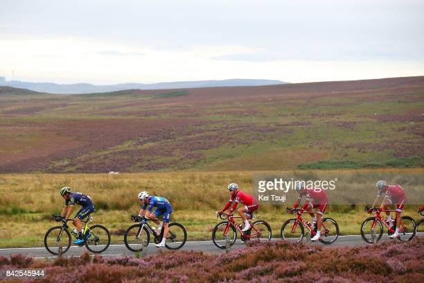 14th Tour of Britain 2017 / Stage 2 Robert POWER / Reto HOLLENSTEIN / Mads WURTZ SCHMIDT / Nils POLITT / Kielder Water Forest Park Blyth / OVO...