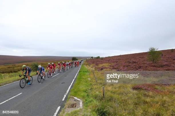 14th Tour of Britain 2017 / Stage 2 Robert POWER / Reto HOLLENSTEIN / Mads WURTZ SCHMIDT / Nils POLITT / Peloton / Kielder Water Forest Park Blyth /...