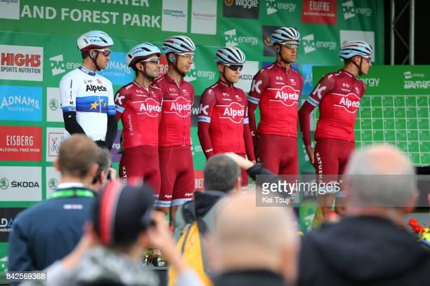 14th Tour of Britain 2017 / Stage 2 Start / Team Katusha Alpecin / Tony MARTIN / Alexander KRISTOFF / Tiago MACHADO / Reto HOLLENSTEIN / Nils POLITT...