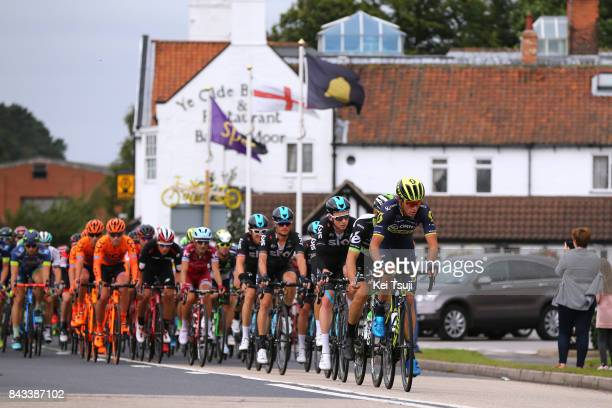 14th Tour of Britain 2017 / Stage 4 Peloton / Robert POWER / Tao GEOGHEGAN HART / Vasil KIRYIENKA / Mansfield Newark on Trent / OVO Energie / TOB /