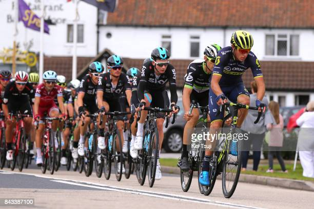 14th Tour of Britain 2017 / Stage 4 Robert POWER / Jay Robert THOMSON / Tao GEOGHEGAN HART / Vasil KIRYIENKA / Geraint THOMAS / Mansfield Newark on...