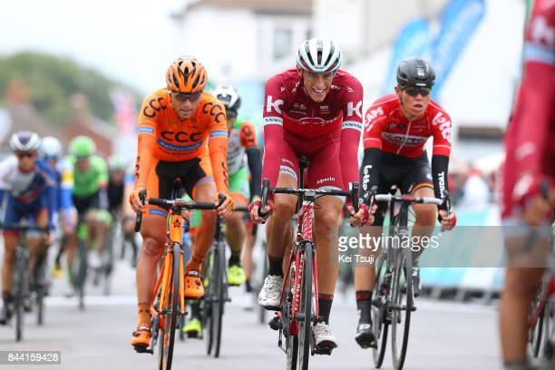 14th Tour of Britain 2017 / Stage 6 Arrival / Nils POLITT / Lukasz OWSIAN / Senne LEYSEN / Newmarket Aldeburgh / OVO Energie / TOB /