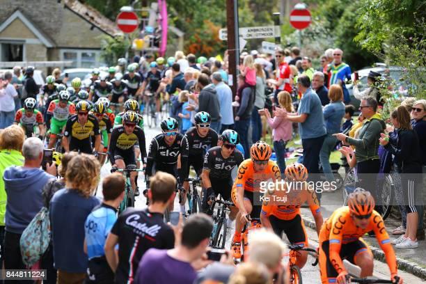 14th Tour of Britain 2017 / Stage 7 Michal KWIATKOWSKI / Geraint THOMAS / Owain DOULL / Public / Fans / Hemel Hempstead Cheltenham / OVO Energie /...