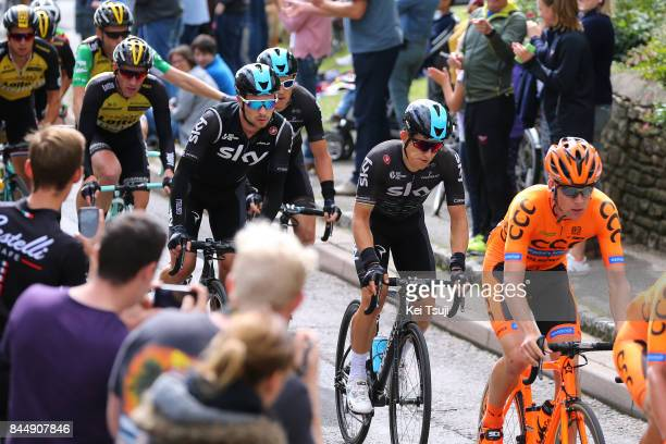 14th Tour of Britain 2017 / Stage 7 Michal KWIATKOWSKI / Owain DOULL / Geraint THOMAS / Hemel Hempstead Cheltenham / OVO Energie / TOB /