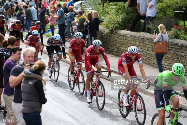 14th Tour of Britain 2017 / Stage 7 Nils POLITT / Reto HOLLENSTEIN / Tony MARTIN / Alexander KRISTOFF Grey Point Jersey /Tiago MACHADO / Team Katusha...