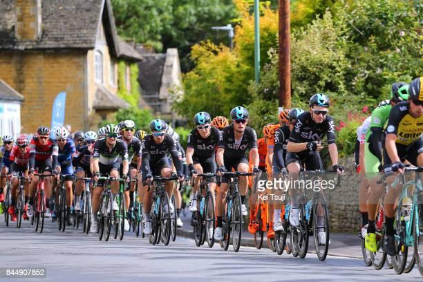 14th Tour of Britain 2017 / Stage 7 Peloton / Tao GEOGHEGAN HART / Michal KWIATKOWSKI / Vasil KIRYIENKA / Geraint THOMAS / Owain DOULL / Hemel...