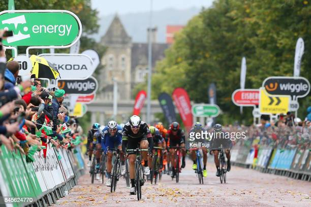 14th Tour of Britain 2017 / Stage 8 Arrival / Edvald BOASSON HAGEN / Ariel Maximiliano RICHEZE / Luka MEZGEC / Sprint / Worcester Cardiff / OVO...