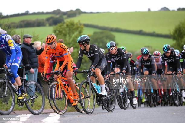 14th Tour of Britain 2017 / Stage 8 Daniel MARTIN / Lukasz OWSIAN / Michal KWIATKOWSKI / Geraint THOMAS / Elia VIVIANI / Peloton / Fans / Public /...