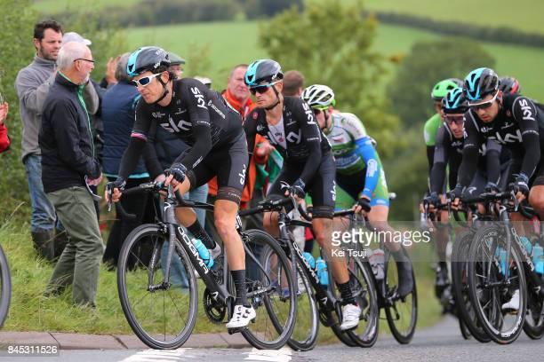 14th Tour of Britain 2017 / Stage 8 Geraint THOMAS / Vasil KIRYIENKA / Owain DOULL / Elia VIVIANI / Worcester Cardiff / OVO Energie / TOB /