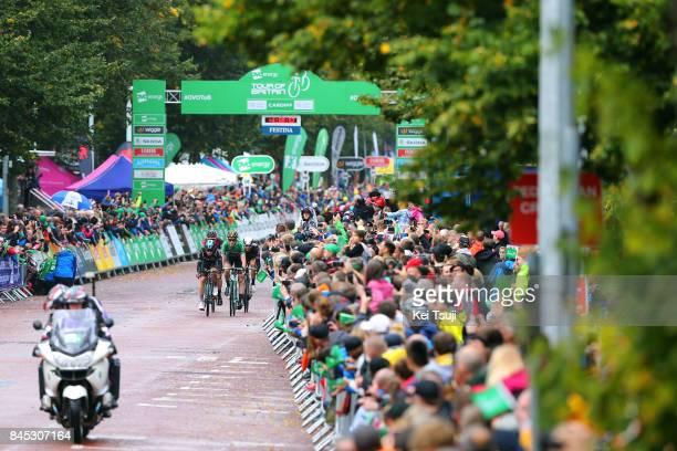 14th Tour of Britain 2017 / Stage 8 Michal KWIATKOWSKI / Lars BOOM / Stefan KUNG / Edvald BOASSON HAGEN / Public / Worcester Cardiff / OVO Energie /...