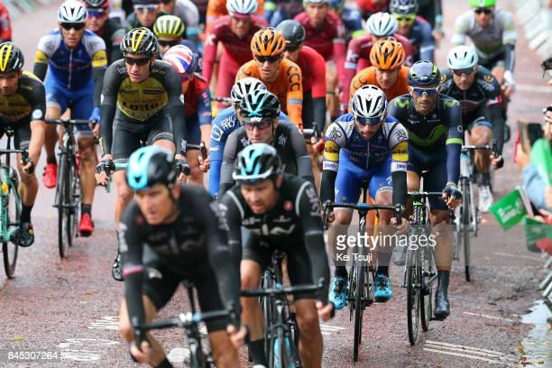 14th Tour of Britain 2017 / Stage 8 Peloton / Fernando GAVIRIA / Elia VIVIANI / Daniele BENNATI / Worcester Cardiff / OVO Energie / TOB /