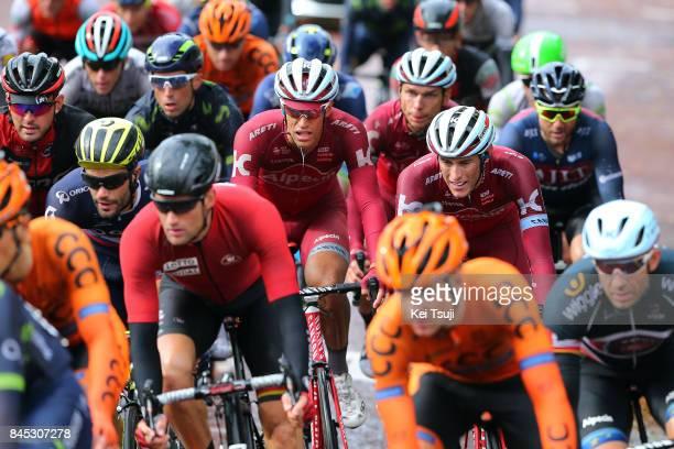 14th Tour of Britain 2017 / Stage 8 Peloton / Tony MARTIN / Alexander KRISTOFF / Reto HOLLENSTEIN / Nils POLITT / Worcester Cardiff / OVO Energie /...