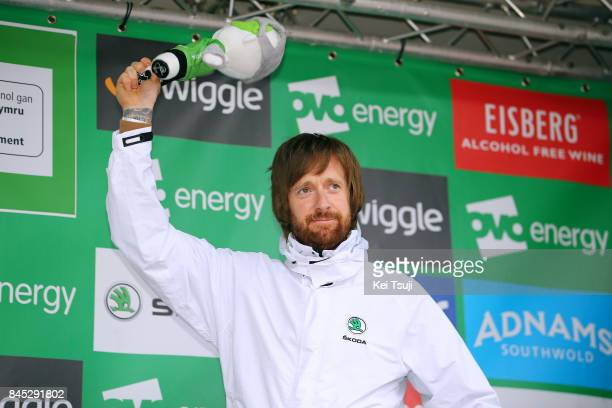 14th Tour of Britain 2017 / Stage 8 Podium / Bradley WIGGINS / Worcester Cardiff / OVO Energie / TOB /
