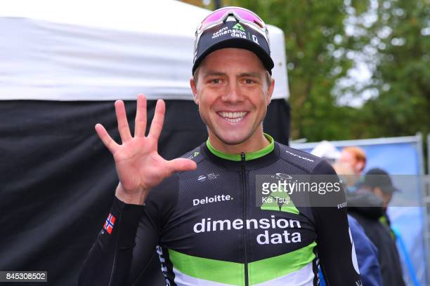 14th Tour of Britain 2017 / Stage 8 Podium / Edvald BOASSON HAGEN / Celebration / Worcester Cardiff / OVO Energie / TOB /