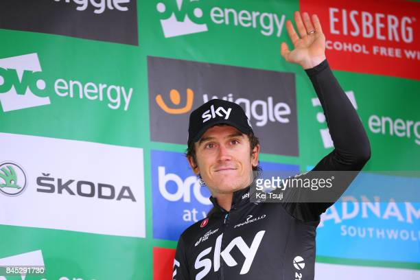 14th Tour of Britain 2017 / Stage 8 Podium / Geraint THOMAS Best British Rider / Celebration / Worcester Cardiff / OVO Energie / TOB /