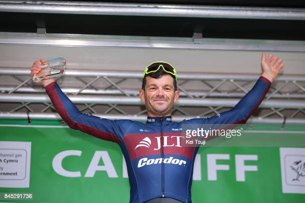 14th Tour of Britain 2017 / Stage 8 Podium / Graham BRIGGS / Overall Combativity Award / Worcester Cardiff / OVO Energie / TOB /