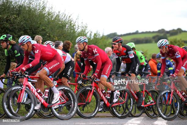 14th Tour of Britain 2017 / Stage 8 Reto HOLLENSTEIN / Tony MARTIN / Edvald BOASSON HAGEN / Tony MARTIN / Nils POLITT / Peloton / Fans / Public /...