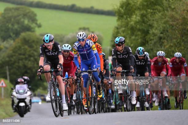 14th Tour of Britain 2017 / Stage 8 Tao GEOGHEGAN HART / Daniel MARTIN / Michal KWIATKOWSKI / Tiago MACHADO / Peloton / Worcester Cardiff / OVO...