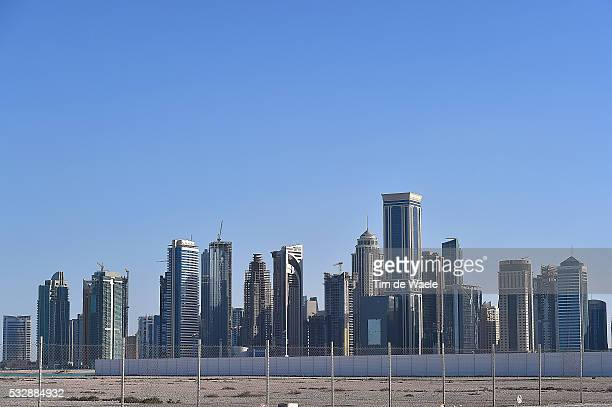 15th Tour of Qatar 2016 / Stage 2 Illustration Illustratie / Skyline Doha City Ville Stad / Landscape Paysage Landschap / Qatar University Qatar...