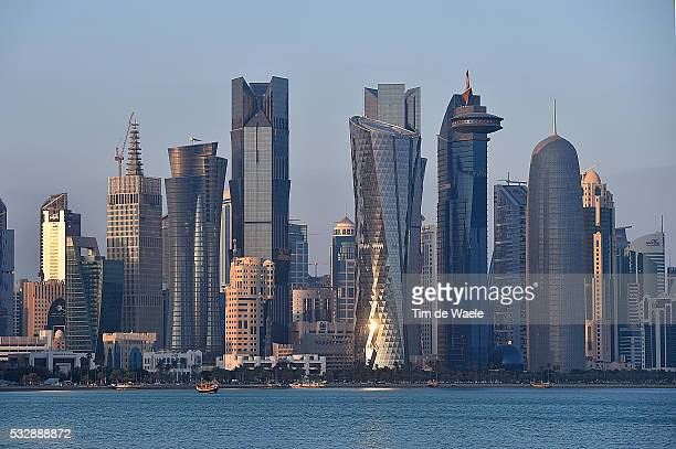 15th Tour of Qatar 2016 / Stage 5 Illustration Illustratie / Doha City Ville Stad / Skyline / Landscape Paysage Landschap / Sealine Beach Resort Doha...