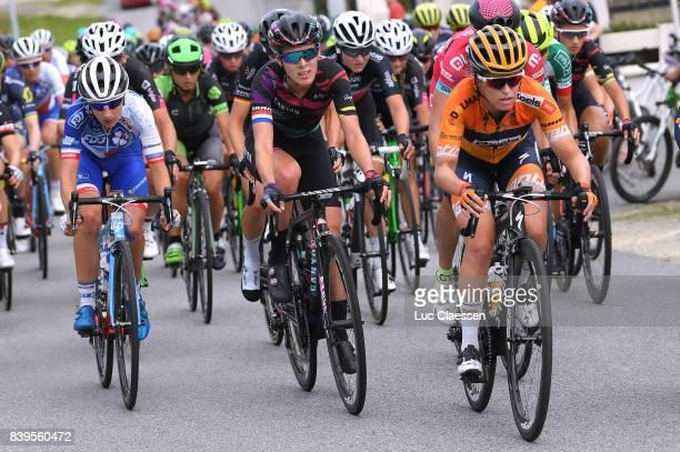 16th GP de PlouayBretagne 2017 / Women KarolAnn CANUEL / Hannah BARNES / Ploulay Ploulay / GPPB /
