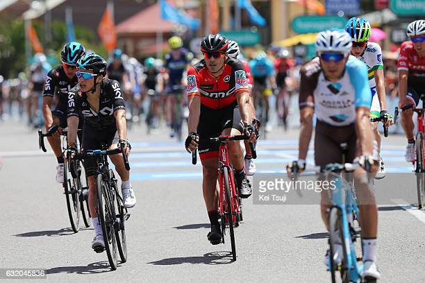 19th Santos Tour Down Under 2017/ Stage 3 Men Arrival / Sebastian HENAO / Francisco VENTOSO / Glenelg Victor Harbor / Hansgrohe Stage / Men / TDU /...